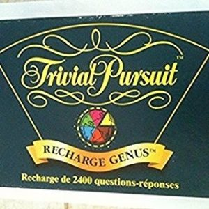 Recharge édition Trivial Pursuit Genus
